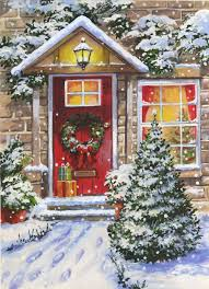Christmas Window Decorations Vintage by 327 Best Winter In The Snow Images On Pinterest Christmas Scenes