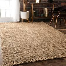 Burlap Area Rug Jute Rugs Area Rugs For Less Overstock