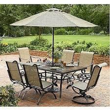 Outdoor Patio Set With Umbrella Patio Furniture With Umbrella Best Of At Strathmore 9 Ft Umbrella