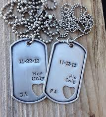 his and hers dog tags best 25 dog tags ideas on distance quotes