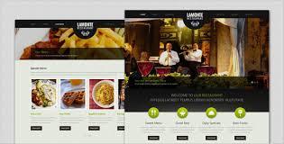 themes wordpress restaurant free lamonte modern restaurant wordpress theme by templatesquare
