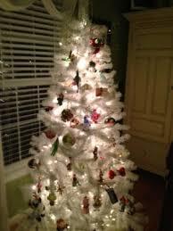 white christmas trees walmart christmas tree decorations themes
