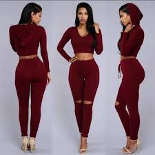 bodycon jumpsuit two 2016 sleeve ripped