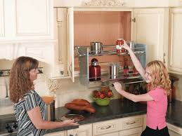 Kitchen Cabinet Pull Pull Down Storage For High Cabinets This Is Kinda Neat Folds