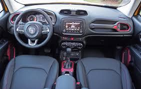 jeep renegade 2014 interior 2016 jeep renegade trailhawk road test review carcostcanada