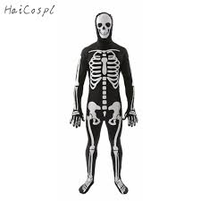 popular halloween skeleton jumpsuit buy cheap halloween skeleton