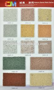 Textured Paint For Exterior Walls - cmzs 07 multi color acrylic resin waterproof natural stone texture