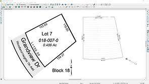 Home Designer Pro Import Dwg Import A Surveyor Dwg File For A Site Plan Or Terrain Perimeter