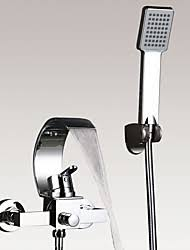 Bathroom Waterfall Faucet by Wall Mount Bathtub Waterfall Faucet Lightinthebox Com