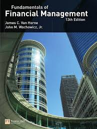 fundamentals of financial management 13th edition van horne