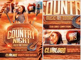 template flyer country free country night flyer template flyerheroes