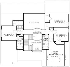 european style house plan 4 beds 4 00 baths 2642 sq ft plan 17 2136