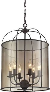 Foyer Light Fixture Elk 31398 6 Fenton Oil Rubbed Bronze Foyer Light Fixture Elk 31398 6