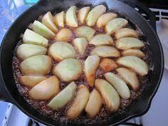 cast iron skillet desserts tarte tatin myrecipes com dessert