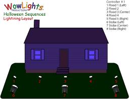 light o rama wowlights lightning light o rama sequence