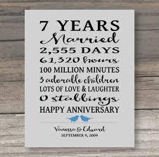 husband anniversary gift 7 year anniversary gift anniversary gift for spouse