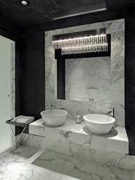 mosaic glass door modern marble bathroom corner white whirpool shower with glass
