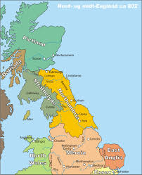 Map Of Scotland And England by Reiver Surnames To Northumbria Gorrenberry