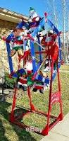 Christmas Decoration Outdoor Ferris Wheel by Gemmy Christmas 7 U0027 Ferris Wheel Large Light Up Outdoor Holiday Display