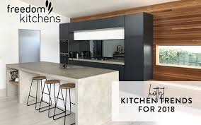 freedom furniture kitchens kitchen design trends for 2018 renovation rookie