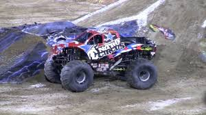 nitro monster trucks nitro circus backflip at monster truck jam 2010 jacksonville youtube