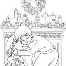 christmas scenes coloring pages 15 xmas coloring books