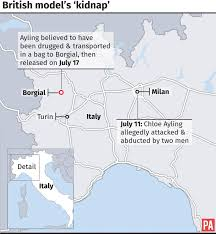 Black Death Map Kidnapping Of Model Chloe Ayling Masterminded By Polish Brothers
