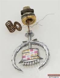cadillac chrome ornament w coupe eldorado
