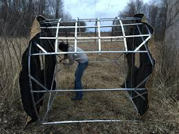 How To Make A Hay Bail Blind Gear Review Redneck Blinds Outfitter Hay Bale Blind Wired To Hunt