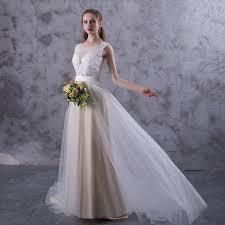 wedding fashion wedding fashion week wedding dresses illusion neckline