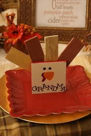Thanksgiving Place Cards Craft 267 Best Thanksgiving Crafts Decor Images On Pinterest Holiday