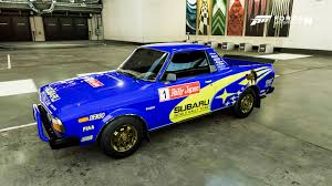 subaru brat custom dogconker forza 7 liveries new design added 31 10 17 paint
