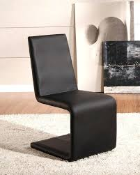 Modern Leather Dining Room Chairs Black Faux Leather Dining Room Chairs Black Leather Dining Table