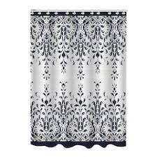 black shower curtains bathroom bed u0026 bath kohl u0027s