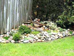 Garden Ideas With Rocks Backyard Rock Garden Ideas Katecaudillo Me