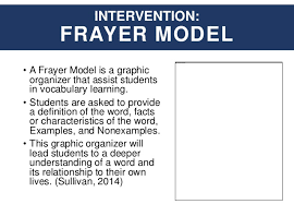 frayer model template frayer model template printable format 5