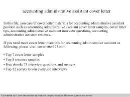 administrative assistant cover letter accounting administrative assistant cover letter 1 638 jpg cb 1409304172