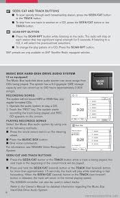 nissan pathfinder bluetooth music nissan pathfinder 2008 r51 3 g quick reference guide