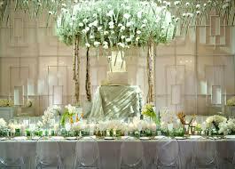 modern concept wedding reception decoration ideas with wedding