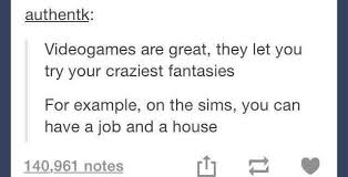 Sims Meme - and a gf too the sims know your meme