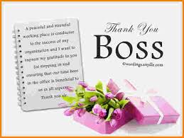 9 thank you note to boss cashier resume