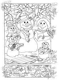 hidden pictures publishing snowman hidden picture puzzle for