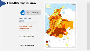 Colombian Map Confronting Colombia U0027s Coca Boom Requires Patience And A