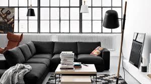 canap d angle contemporain design canapé d angle en tissu cuir design contemporain côté maison