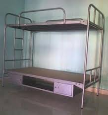 Bunk Bed With Cot Institutional Furniture Manufacturer From Chennai