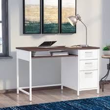 Industrial Style Reception Desk Industrial Desks You U0027ll Love Wayfair