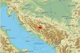 tri potresa za 12 minuta podrhtavalo tlo sarajevu zenici