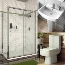 Shower Enclosure Bathroom Suites Mayford Bathroom Suite Elegance 8mm Curved Walk In Shower