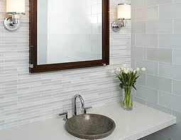 incredible glass tile ideas for small bathrooms with modern glass