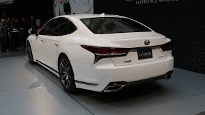 lexus luxury sedan 2018 lexus ls 500 f sport is a more aggressive luxury sedan